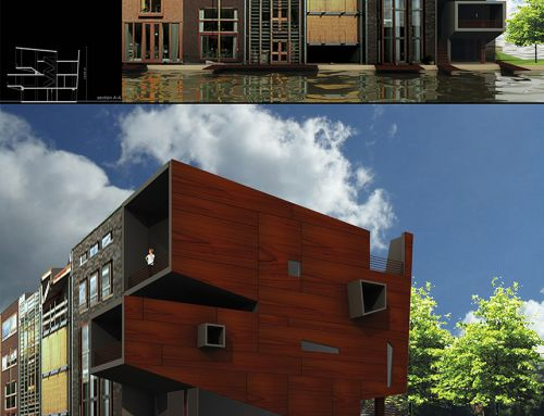 LI.BO Living in borneo AWR Competition, Amsterdam