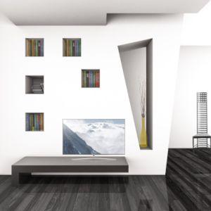 cabine armadio studio architettura bastoni